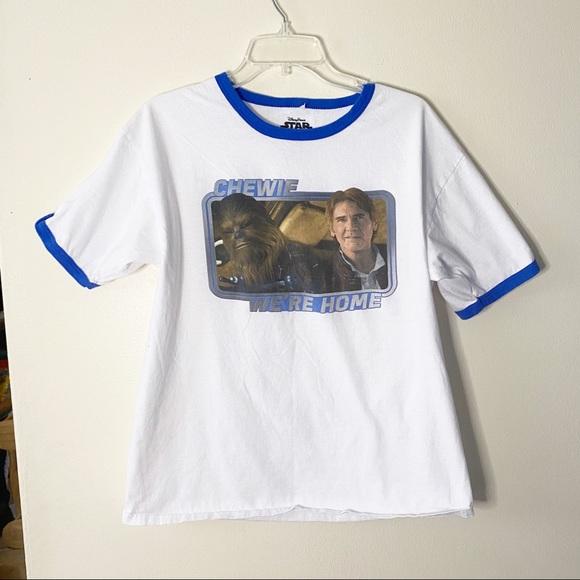 "Disney Parks Star Wars ""Chewie We're Home"" T-Shirt"